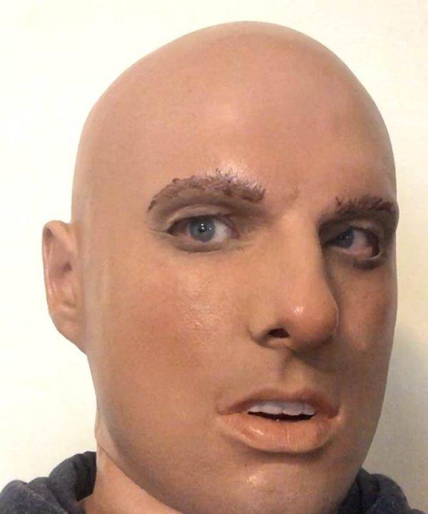Młodzieniec Lestat realistyczna maska