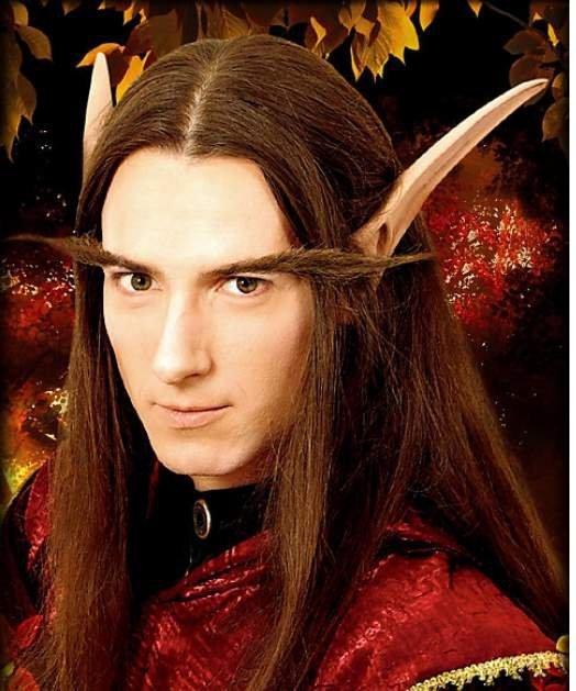 Sztuczne uszy - Uszy elfa nocnego