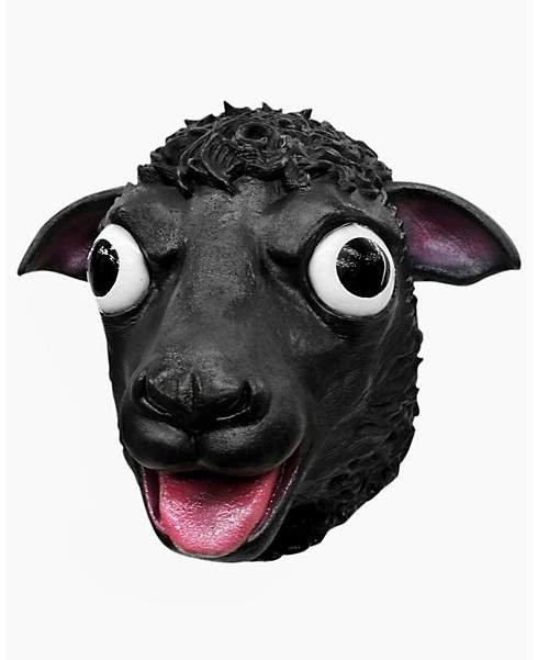Maska lateksowa - Czarna Owca