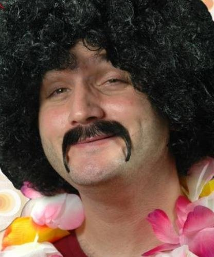 Naturalne wąsy - Hipis