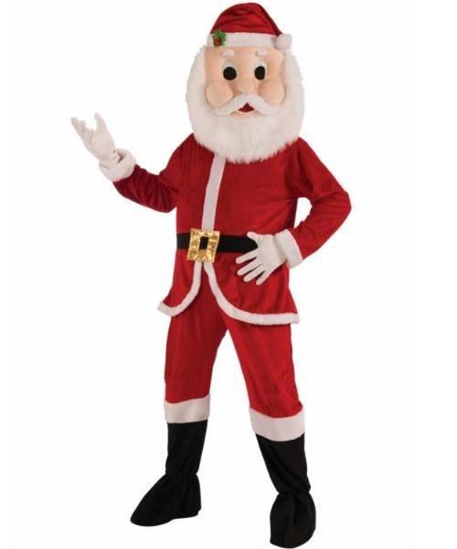 Chodząca maskotka - Santa Claus (Świety Mikołaj)