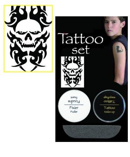 Tatuaż zmywalny - Trupia czaszka