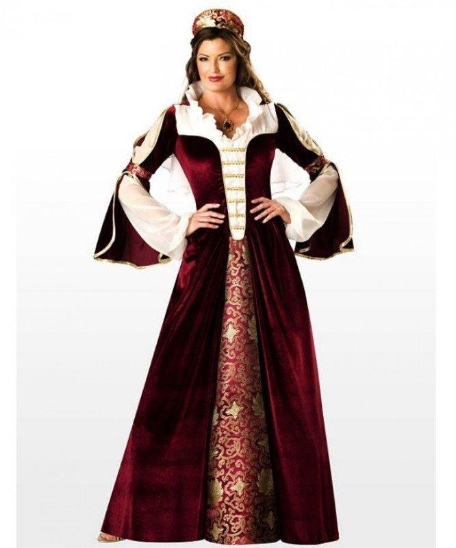 Kostium teatralny - Średniowieczna Księżna