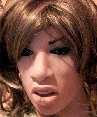 Maska lateksowa - Angelina
