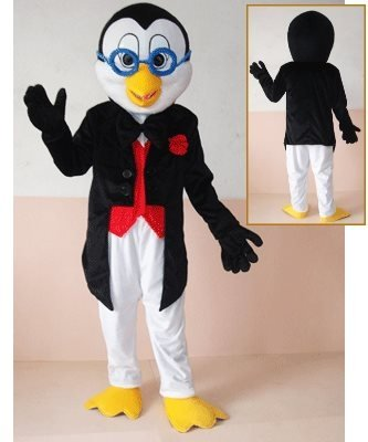 Strój reklamowy - Pingwin Profesor