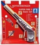 ROTHENBERGER SUPER FIRE 3 Zestaw MAPP