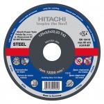 HITACHI Tarcza do cięcia stali A24R 125x3,0x22,2mm płaska - STANDARD