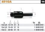 Beta 451GA/10X1.25 Uchwyt do otwornic 451 gwintowany 10x1.25