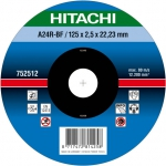 HITACHI Tarcza do cięcia metalu stali 230x3x22,2mm płaska - PREMIUM