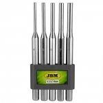 JBM Wybijaki cylindryczne 4-8 mm, 5 szt