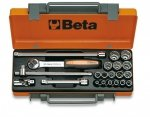 Beta 910A/C16 Zestaw nasadek 3/816szt + akcesoria