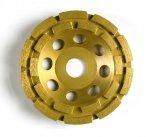 Tarcza diamentowa 125mm do szlifowania betonu CW125HG-E1 dwurzędowa 125 x 4,5 x 7 x 22.2mm