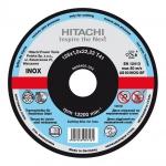 HITACHI Tarcza do cięcia metalu INOX A46T 125x1,6x22,2mm płaska - STANDARD