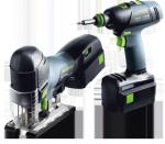 Festool Akumulatorowy pakiet montażowy - wiertarko-wkrętarka oraz wyrzynarka T 18+3 /PSC 420 Plus