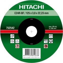 HITACHI Tarcza do cięcia kamienia 115x3x22,2mm wypukła - PREMIUM