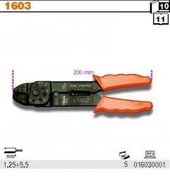 Beta 1603 Szczypce do zaciskania końcówek kablowych 1,25-5,5mm
