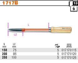Beta 1717B/150 Skrobak o trzech ostrzach 150mm