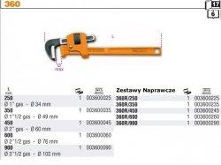 Beta 360/250 Klucz do rur model stillson 1