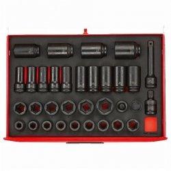 Zestaw nasadek EVA, 33 elementów Tengtools TTEISK33