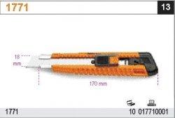 Beta 1771 Nóż ostrze 18 mm odłamywalne 2 ostrza zapasowe w uchwycie