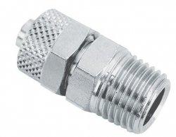 ADLER Złączka zaciskowa gwint 1/4z 6x4mm