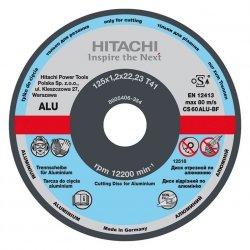 HITACHI Tarcza do cięcia aluminium C60S 115x3,0x22,2mm płaska - STANDARD