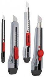 4 noże 9 mm i 18 mm z ostrzami wymiennymi Tengtools 710S