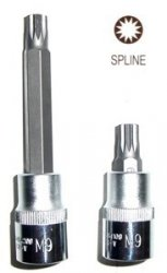 Jonnesway Klucz wpustowy SPLINE M6x100 z nasadką 1/2 S64H4206