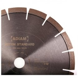 Adiam tarcza diamentowa BETON STANDARD Ø125x22,23mm