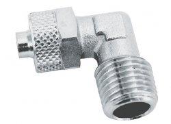 ADLER Złączka L zaciskowa 1/4z - 6x4mm