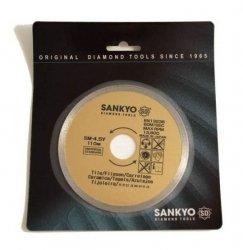 Tarcza diamentowa 125 mm do cięcia glazury ceramiki szkła terakoty SM-5Y ciągła 125 x 1,4 x 5 x 22.2mm