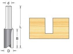 Frez prosty 10X32/64mm chwyt 6mm