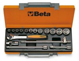 Beta 920B/C12 Zestaw nasadek 1/2 z wyposażeniem 17szt