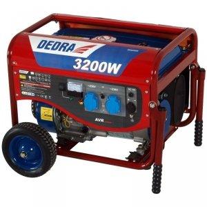 Agregat prądotwórczy generator 2800W 3,2kW DEDRA