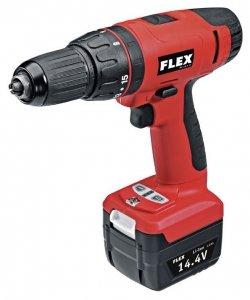 Wkrętarka FLEX AC 14,4 śrubokręt wiercący akumulatorowy 14,4 V (348.449)