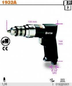 Beta 1932B10 Wiertarka dwukierunkowa 10 mm