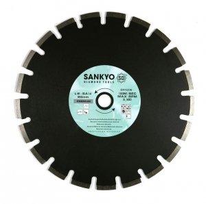 Tarcza diamentowa 230 mm do cięcia asfaltu silki chudego betonu LW-SA9(70) segment 230 x 2,6 x 10,0 x 70mm
