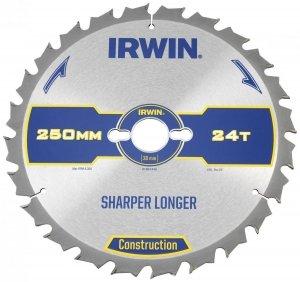 IRWIN HPP IR CON Piła Tarczowa do drewan 250x30mm 60Z