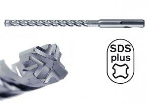 HIKOKI Wiertło udarowe 12x260mm SDS Plus 4-spiralne 4-ostrzowe