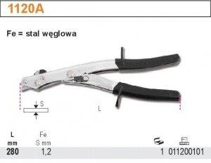 Beta 1120A Nożyce matrycowe do blachy 280mm