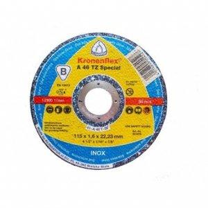 KLINGSPOR A46 Extra tarcza do ciecia metalu 115x1,6x22