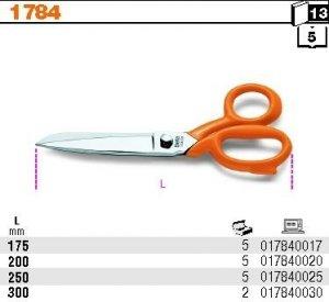 Beta 1784/175 Nożyczki 175mm