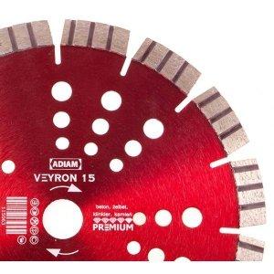Adiam tarcza diamentowa VEYRON 15 Ø125mm x 22,23mm