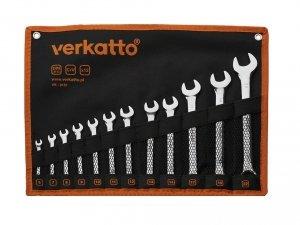 Zestaw kluczy płasko-oczkowych 6-22mm 12szt VR-0151