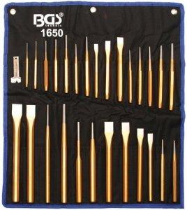 BGS Wybijaki cylindryczne 1.5-9.5mm 18cz