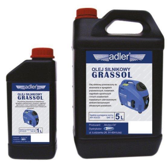 ADLER Olej do agregatów prądotwórczych GRASSOL 1L