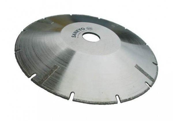 Tarcza diamentowa 125 mm do cięcia kompozytów marmuru tworzyw sztucznych SEM-5 nasyp diamentowy 125 x 2,3 x 2 x 30 x 22.2mm