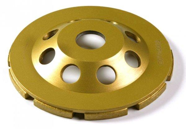 Tarcza diamentowa 100 mm do szlifowania betonu CW100HG-E1 dwurzędowa 100 x 4,5 x 7 x 22,2mm
