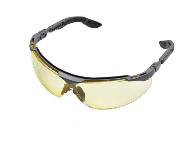 Okulary ochronne, bursztynowe szkła