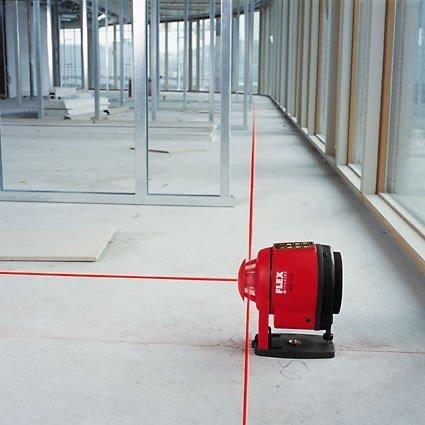 Samopoziomujący laser  FLEX ALR 512 obrotowy do pomiarów pionowych i poziomych (329.452)